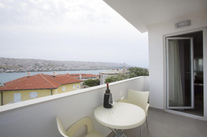 Superior Room Balcony Intermezzo Hotels in Pag